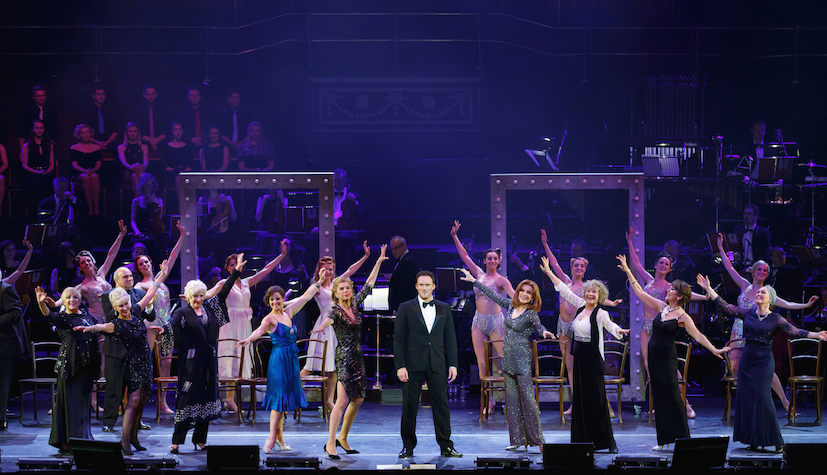 Cast of Follies In Concert At The Royal Albert Hall - Photo By Darren Bell