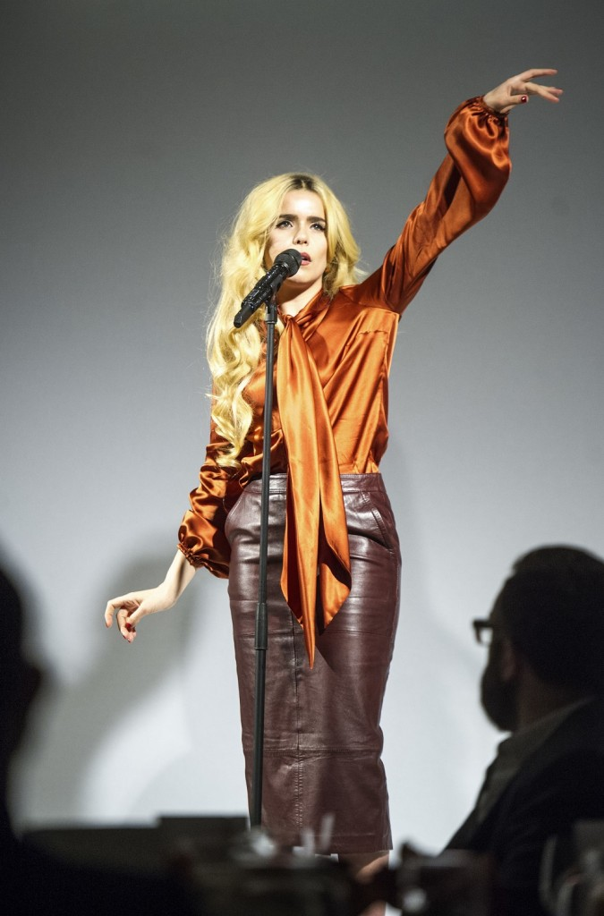 F&F Autunm/Winter 2015                  picture by Geoff Pugh Paloma Faith performing *Approved*