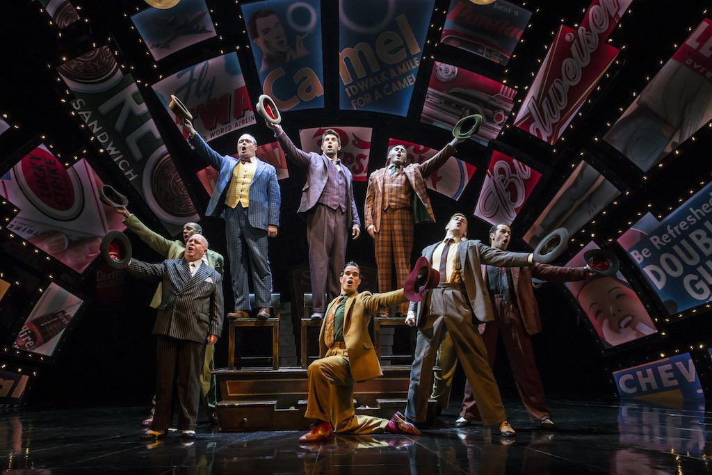 GUYS AND DOLLS, ,Music and lyrics - FRANK LOESSER., Book - JO SWERLING and ABE BURROWS, Director Gordan Greenberg, Choreographer - Carlos Acosta, Designer - Peter MaKintosh, Touring Production, Phonix Theatre, London, June, 2016, Credit: Johan Persson - www.perssonphotography.com /
