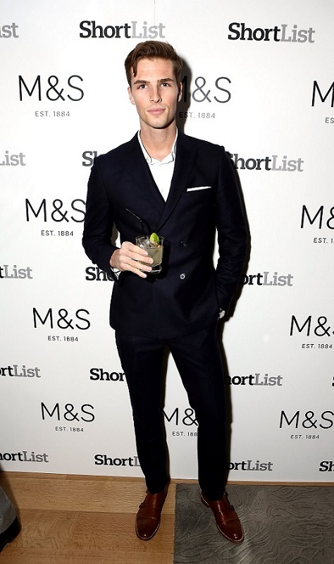 LONDON, ENGLAND - JANUARY 11: Edward Wilding attends a reception hosted by Marks & Spencer and ShortList Magazine to celebrate London Collections Men AW16 at Rosewood London on January 11, 2016 in London, England. (Photo by David M. Benett/Dave Benett/Getty Images for M&S and Shortlist) *** Local Caption *** Edward Wilding